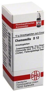 DHU Chamomilla D 12 Globuli (10 g)