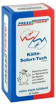 ABC Pressotherm Kaelte Sofort Tuecher Faltsch. (10 Stk.)