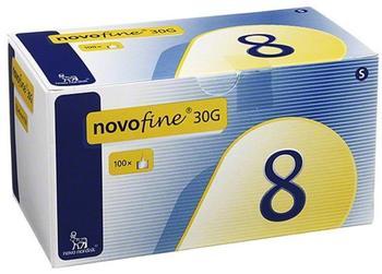 Novo Nordisk Novofine 8 Kanülen 0,30 x 8 mm Tw dünnwandig (100 Stk.)