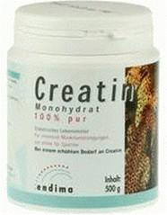 Endima Creatin Monohydrat 100% Pur Pulver 500g