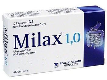 Milax 1,0 Suppositorien (10 Stk.)