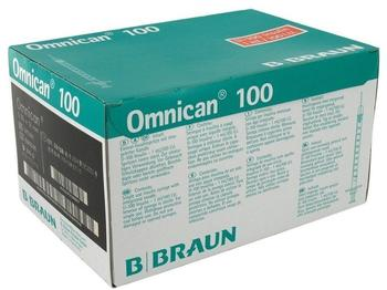 B. Braun Omnican 100 Ins.Kan.Spr.F.U 100 Ins.1 ml/100 Iu (100 Stk.)