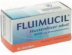 Fluimucil Hustenloeser Akut 600 Brausetabletten (10 Stk.)