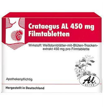 Aliud Crataegus AL 450mg Filmtabletten 100 St.