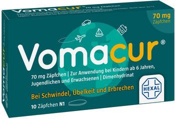 Vomacur 70 Suppositorien (10 Stk.)