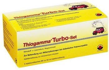 Thiogamma Turbo Set Pur Inj.-Fl. (5 x 50 ml)