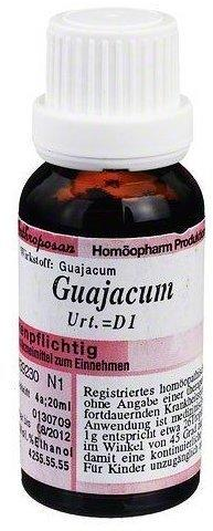 Anthroposan Guajacum Urtinktur D 1 (20 ml)