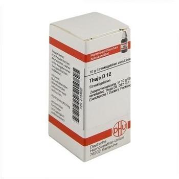 DHU Thuja D 12 Globuli (10 g)