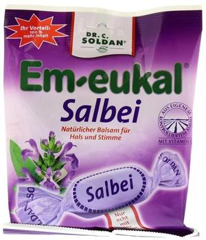 Soldan Em-Eukal Bonbons Salbei zuckerhaltig (150 g)