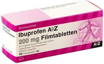 ABZ-PHARMA IBUPROFEN AbZ 200 mg Filmtabletten 50 St