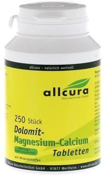 Allcura Dolomit Magnesium Calcium Tabl. (250 Stk.)