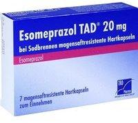 TAD Pharma ESOMEPRAZOL TAD 20 mg bei Sodbrennen msr.Hartkaps. 7 St