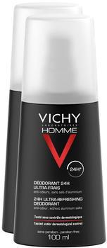 Vichy Homme ultra-frisch Deodorant Spray (2x150 ml)