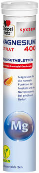 Doppelherz system Magnesium 400 Citrat Brausetabletten (24 Stk.)