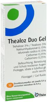 Thealoz Duo Augengel Ampullen (30 x 0.4g)