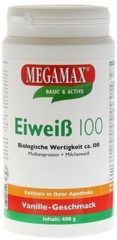 Megamax Eiweiss 100 Vanille Pulver (400 g)