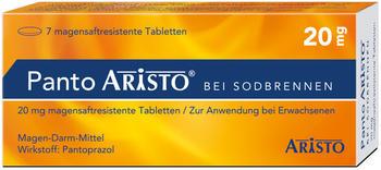 Panto Aristo bei Sodbrennen 20 mg magensaftresistente Tabletten (14 Stk.)