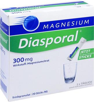 Magnesium Diasporal 300 mg Granulat (20 Stk.)