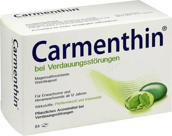 Carmenthin bei Verdauungsstörungen magensaftresistente Weichkapseln (84 Stk.)