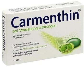 Dr Willmar Schwabe GmbH & Co KG Carmenthin bei Verdauungsstörungen Weichkapsel 14 St.