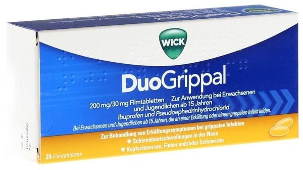 Procter & Gamble WICK DuoGrippal 200 mg/30 mg Filmtabletten 24 St