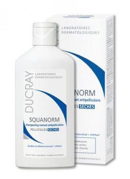Ducray Squanorm Anti-Schuppen Shampoo Trockene Schuppen (200ml)