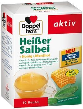 Doppelherz Heißer Salbei + Honig + Menthol Granulat (10 Stk.I)