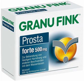 Omega Pharma Deutschland GmbH GRANU FINK Prosta forte 500 mg Hartkapseln 40 St.