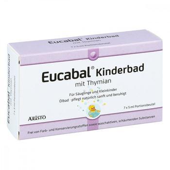 Eucabal Kinderbad mit Thymian (7 x 5 ml)