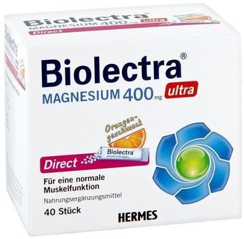 Hermes Biolectra Magnesium 400 mg ultra Direct Orange (40 Stk.)