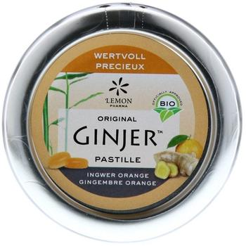 Lemon Pharma Ingwer Ginjer Orange Pastillen Bio (40g)