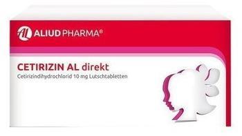 Cetirizin AL direkt Lutschtabletten (49 Stk.)