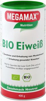 MEGAMAX Bio Eiweiss neutral Megamax Pulver 400 g