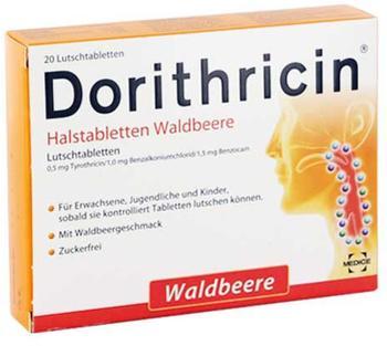Dorithricin Halstabletten Waldbeere (20 Stk.)