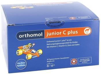 Orthomol Junior C plus Kautabletten Waldfrucht (30 Stk.)
