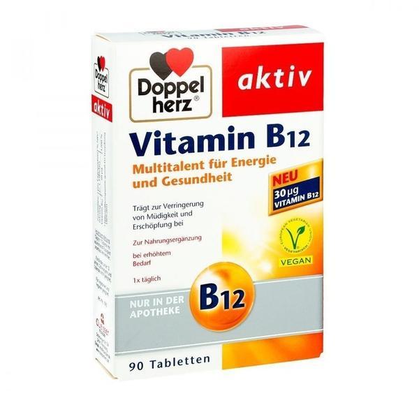 Doppelherz Vitamin B12 Tabletten (90 Stk.)