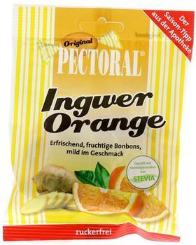 Wepa Pectoral Ingwer-Orange-Bonbons zuckerfrei (60g)