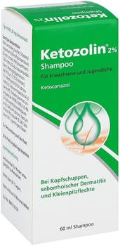 Dermapharm Ketozolin 2 % Shampoo (60 ml)