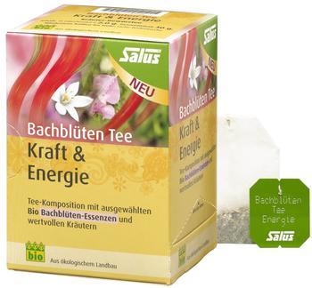 Salus Pharma Bachblüten Tee Kraft & Entspannung (15 Stk.)