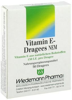 Wiedemann Vitamin E Dragees NEM (50 Stk.)
