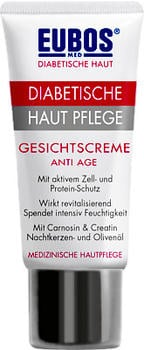 Eubos Diabetische Haut Pflege Gesichtscreme Anti Age (50ml)