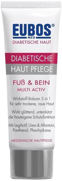 Eubos Diabetische Hautpflege Fuß & Bein Multi Activ (100ml)