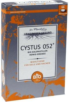 Dr. Pandalis Cystus 052 Bio Halspastillen Honig Orange (66 Stk.)