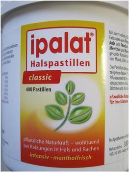 Ipalat Halspastillen classic (400 Stk.)