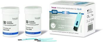 Beurer GL 40 Blutzuckerteststreifen (100 Stk.)