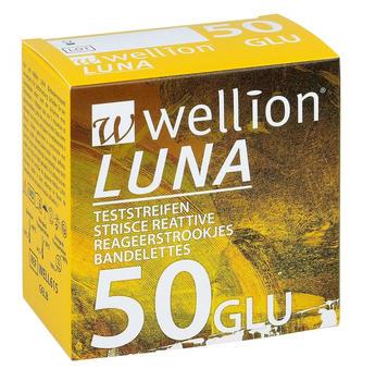 Wellion Luna Blutzuckerteststreifen (50 Stk.)