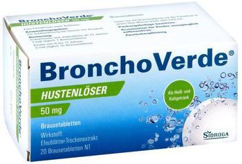 Bronchoverde Hustenlöser 50 mg Brausetabletten (20 Stk.)
