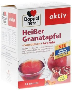 Doppelherz Heißer Granatapfel + Sanddorn + Acerola Beutel (10 Stk.)