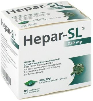 Hepar SL 320 mg Hartkapseln (100 Stk.)