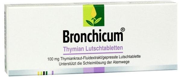 Klosterfrau BRONCHICUM Thymian Lutschtabletten 20 St